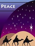 3 Wise Men Card