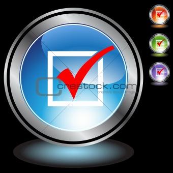 Black Chrome Icons - Checkmark