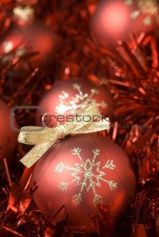 Christmas balls.