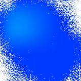 snowflakes background texture blue