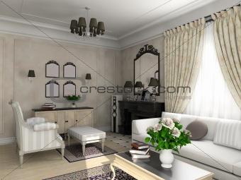 Classic interior.