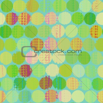 Paint splotches