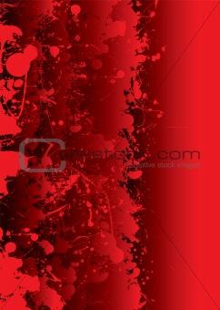 blood splat vivid