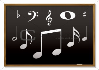 musical blackboard