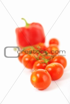 tomato and paprika