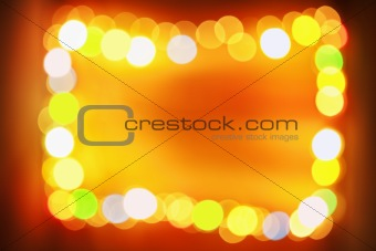 Frame blur light