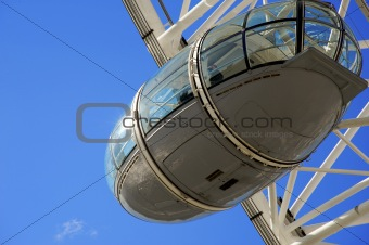 A capsule of the London Eye