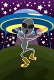 Let's Do The Alien Walk!