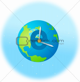 clock on earth