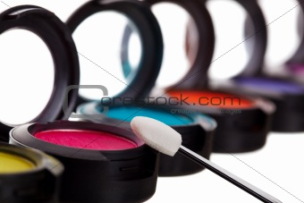 Eyeshadow Pots With Brush