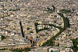 Paris. Aerial view