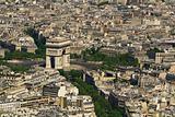 Paris. Aerial view