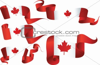 Canada Flag Banners