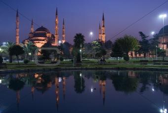 masque,sultan ahmet,cami