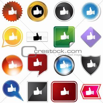 Thumbs Up Variety Set