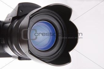 Close lens view