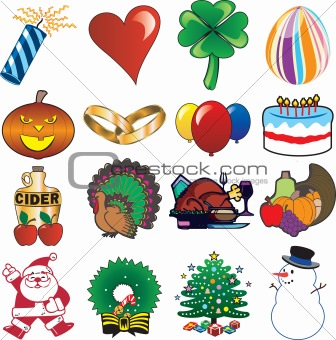 Holiday Icon Set 3
