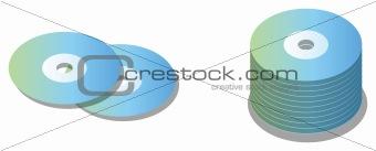 CD ROM disk