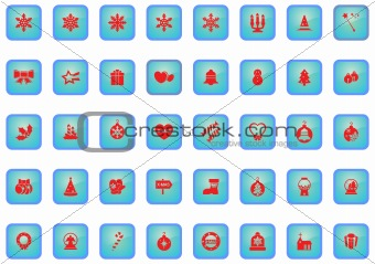 Christmass icon set