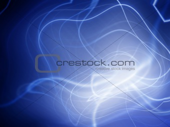 Abstract blue vortex background