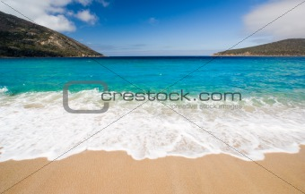 Beautiful Beach Scene