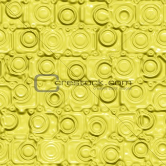 yellow silicon pattern