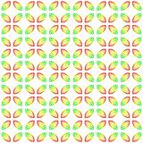 festive leaves pattern