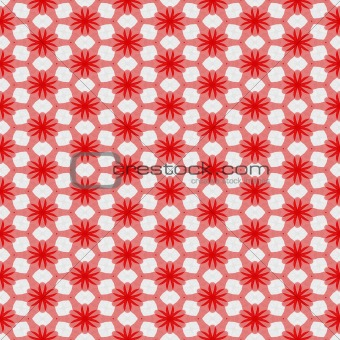 abstract red textile pattern