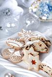 Christmas cake and cookies