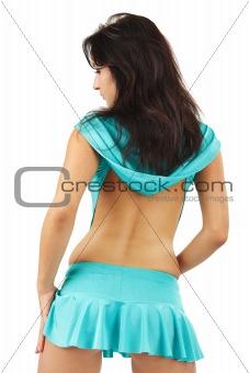 Beautiful young woman wearing sexy lingerie