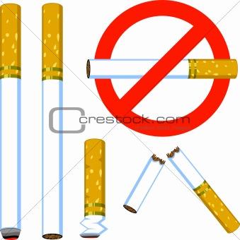Cigarette set