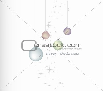 Christsmas balls and stars