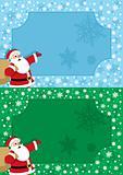 Santa Frame