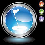 Black Chrome Icons - Golf