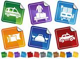 Hotel Service Sticker Set