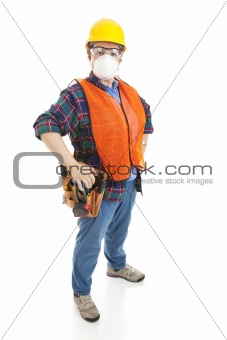 Construction Safety - Female Worker
