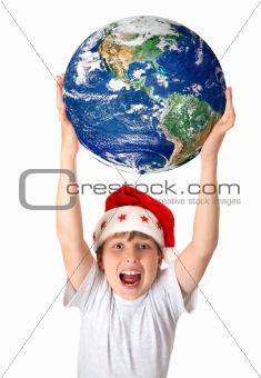 Celebrating Christmas around the planet worldwide