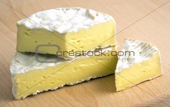 Fresh camembert cheese