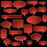 Multiple Chat Icons - Red