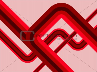 An abstract vector retro background illustration