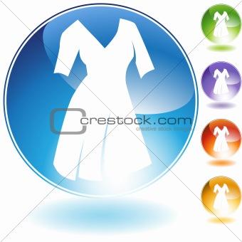 Sleeve Dress Crystal Icon