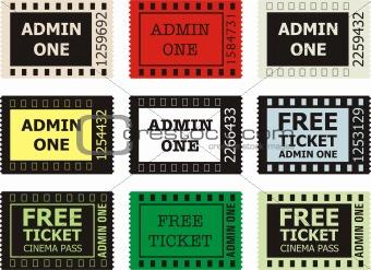 Admit One Cinema Ticket