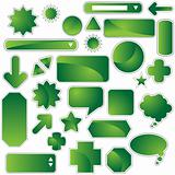 Label Set - Green