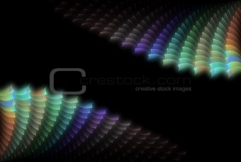 abstract colour shell background