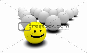 Smiley Faces Background