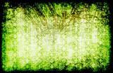 Green Grunge Style Vintage Background