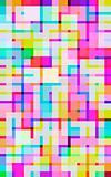 vivid digital squares