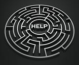 Maze - Search for help
