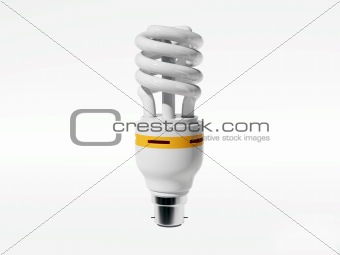 Energy saving lamp (5000px HQ 3d render)