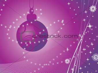 background with hanging ball